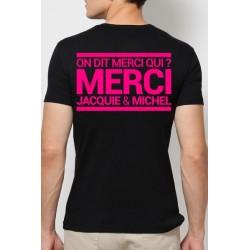 T-shirt Jacquie & Michel Rose fluo