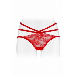 Culotte ouverte  Nadia - rouge
