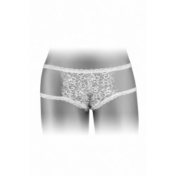 Culotte ouverte Emma - blanc