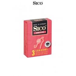 3 Préservatifs Sico SENSITIVE