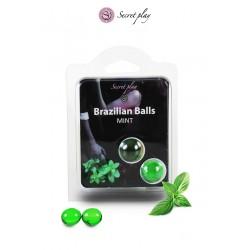 2 Brazilian balls - menthe