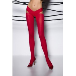 Collants ouverts TI005 - rouge