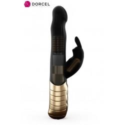Vibro rechargeable Baby Rabbit noir 2.0 - Dorcel