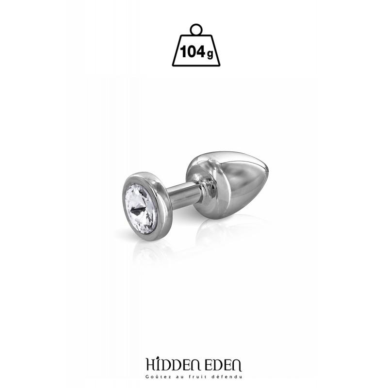 Plug bijou acier XS - Hidden Eden