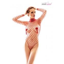 Body filet rouge Forca - Anaïs