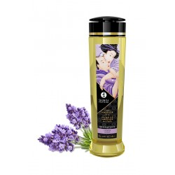 Huile de massage parfum lavande - Shunga