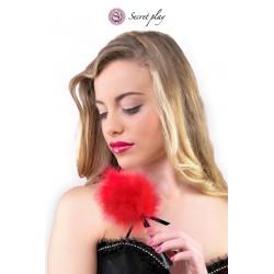 Plumeau 18 cm rouge - Secret Play