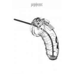 Cage de chasteté 10cm avec sonde urétrale - ManCage 16