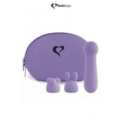 Mini vibromasseur Mister Bunny violet - Feelztoys