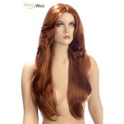 Perruque Rihana rousse - World Wigs
