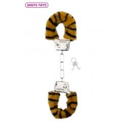 Menottes fourrure Shots - tigre