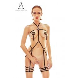 Harnais lingerie Ostenia - Angels Never Sin