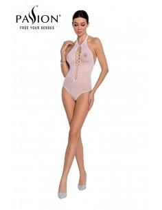 Body string résille BS088 - Blanc