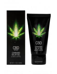 Gel retardant CBD Cannabis 50ml