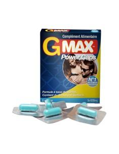 G-Max Power Caps Homme (5 gélules)